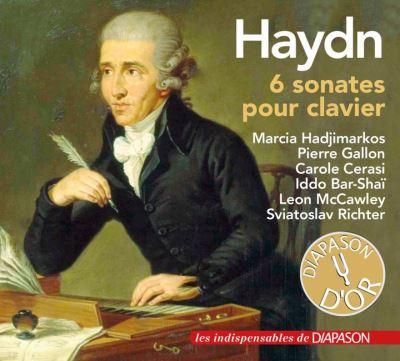 HAYDN, 6 sonates pour clavier